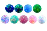 Piercingkugeln aus Opal